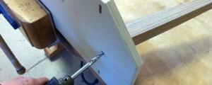 17-Leg bolts drill